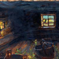 Gallen-Kallela interno sauna