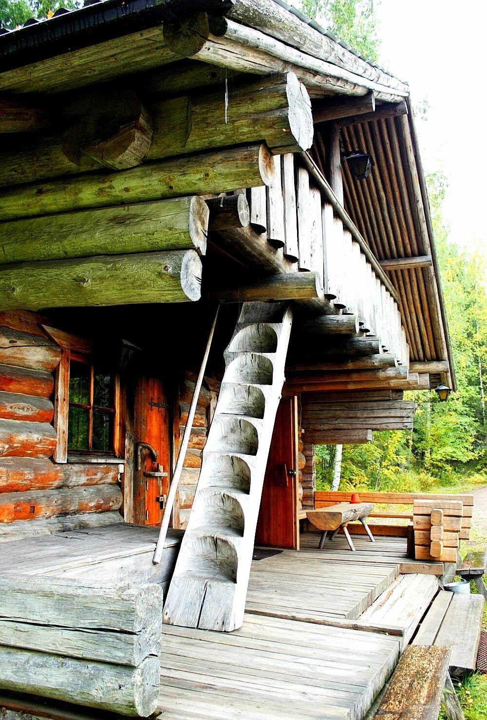 Sauna tradizionale finlandese per esterni