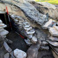 Scavi archeologici di Assynt: la sauna dell'Et� del Bronzo