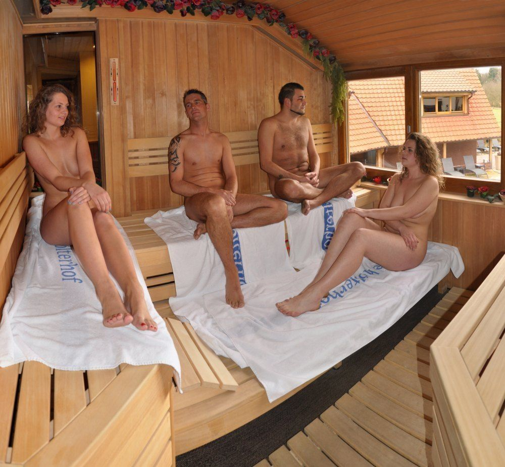 Il modo di disporsi correttamente nella sauna