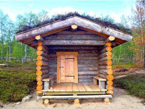La distinzione di Saune Sibelius: la sauna finlandese originale.