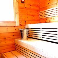 Una sauna Sibelius: la vera sauna finlandese in Italia